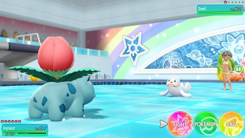 pokemon let's go cerulean city misty gym