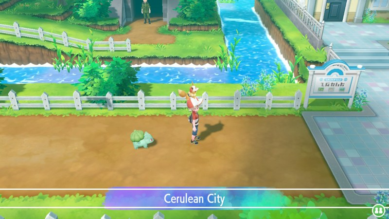 pokemon let's go cerulean city