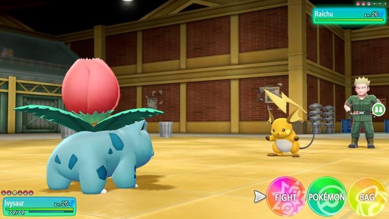 pokemon let's go how to beat lt surge thunder gym
