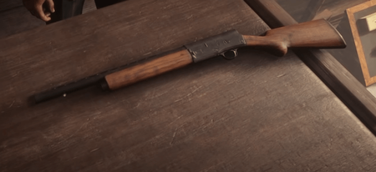 red dead redemption 2 best shotgun