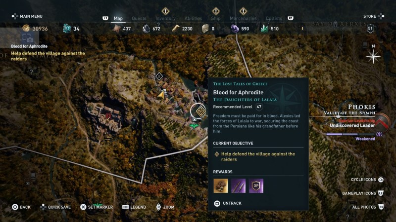 ac-odyssey-blood-for-aphrodite-quest-guide