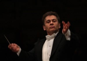 Christian Badea, who conducted with panache.  And sometimes spittle when the music got really intense.