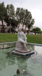 Lovely statue on the Thessaloniki waterfront