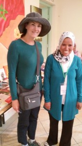 Hadija is quite active with the Dar Takafa and we have become fast friends.  She is such a lovely lady, and I feel fortunate that she agreed to tuttor me!