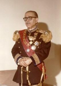 S. A. il Principe e Gran Maestro, conte Vincenzo Abbate de Castello jr.