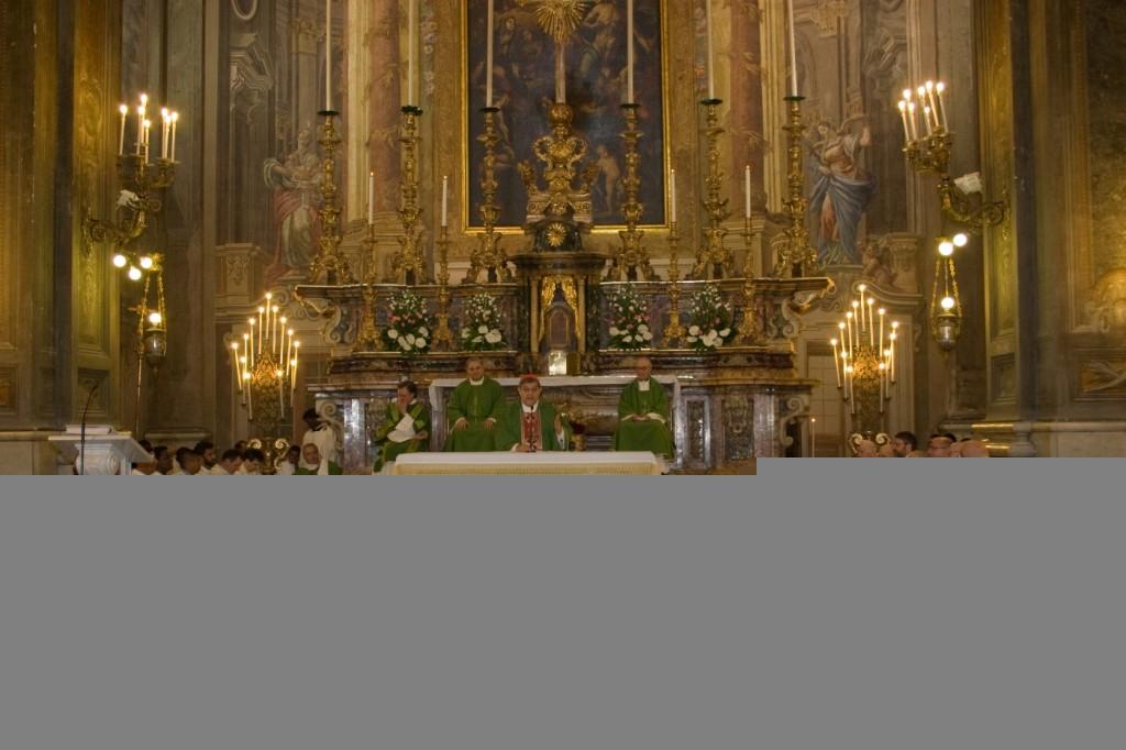 Cardinale Sepe e Cavalieri Santa Brigida