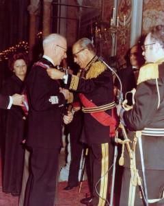 Cavaliere di Gran Croce, Gen c.a. Borsi di Parma, Comandante Generale della Guardia di Finanza