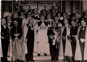 Cavalieri di S. Brigida in una foto degli anni 40