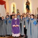 Sezione Pugliese con S. Ecc. Mons. Cornacchia Vescovo di Lucera-Troia