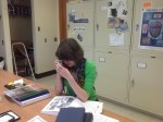 Bryozoans & Hannah