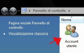 Windows Vista: Account Utente