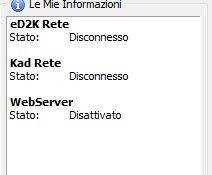 Finestra Server Emule