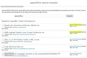 Furk.net: cerca e scarica torrent
