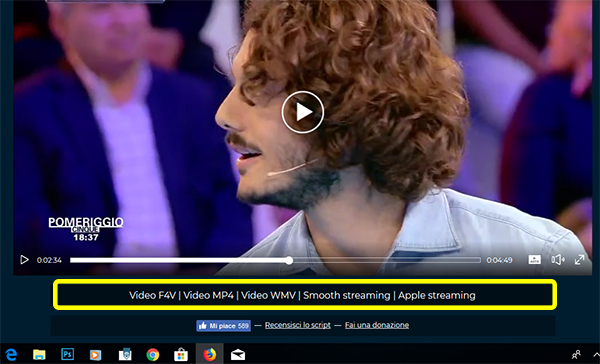 come scaricare video mediaset su firefox