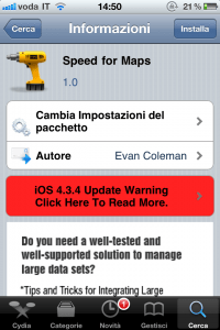 Speed for Maps Screenshoot