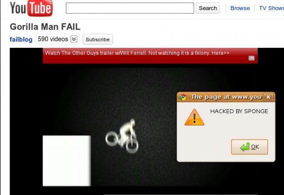 YouTube Hacked