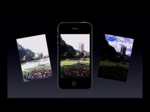 Sistema HDR in iPhone