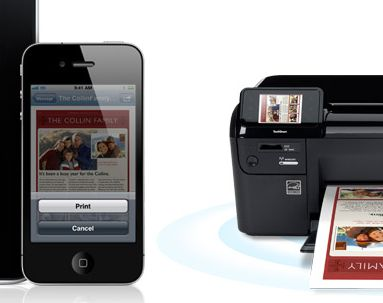 iOS 4.2.1 e AirPrint