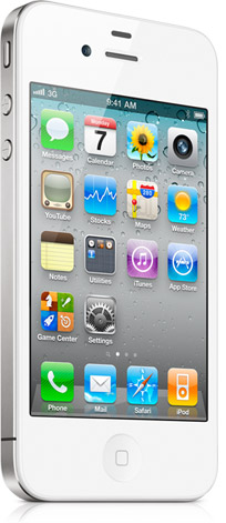iPhone 4 Bianco in vendita