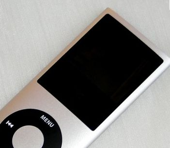 Apple iPod Nano 4G display curvo