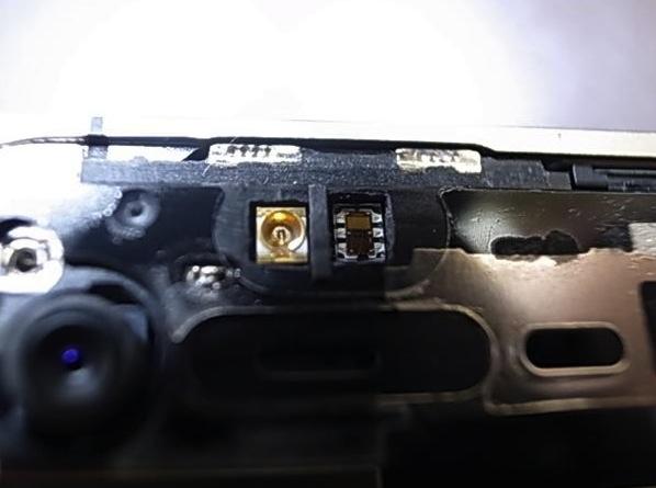 iPhone 4 bianco hardware sensore di prossimità differente dal modello nero