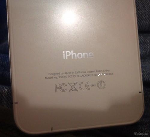 Fronte presunto prototipo iPhone 4S Retro