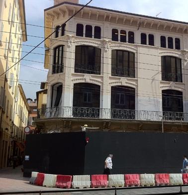 Apple Store Bologna in costruzione