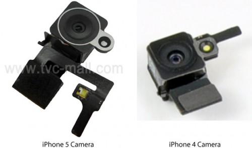 iPhone 5: presunta foto della fotocamera posteriore con flash led