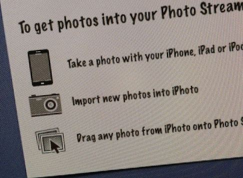 Photostream iphone 5 icon ?