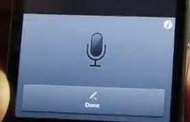 Siri dictation su iPhone 4
