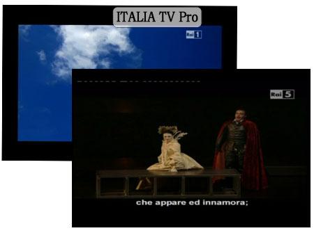 ITALIA TV Pro screenshoot