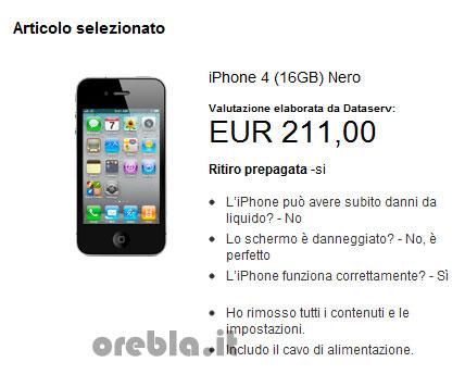 Apple valutazione iPhone riciclo