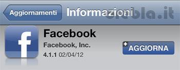 Facebook 4.1.1