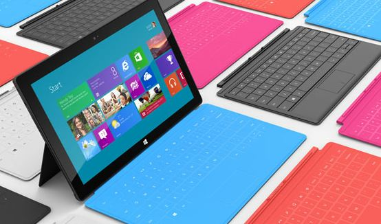 Microsoft surface tablet logo
