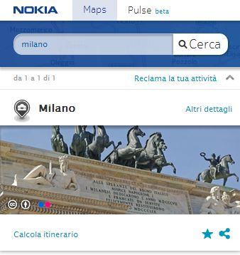 nokia here screenshot