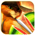 fruit ninja puss in boots icon