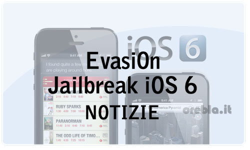 Rilasciato il software per il jailbreak iOS 6: Evasi0n