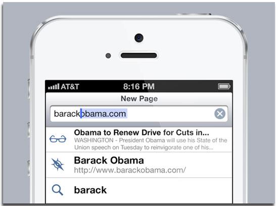 iOS 7 Concept Safari