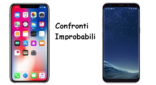 confronto iphone x samsung s