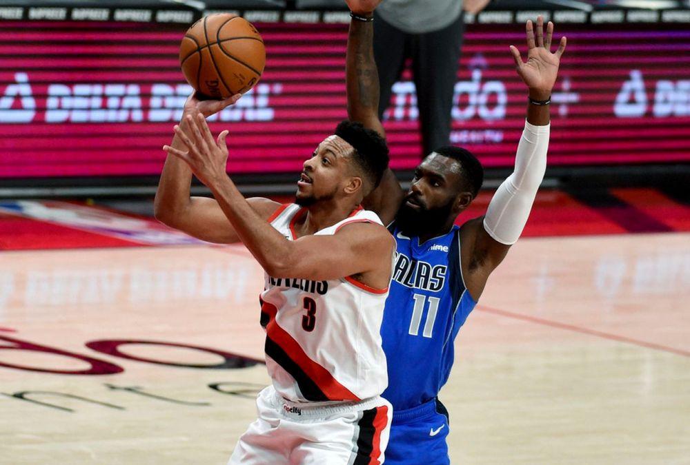 CJ McCollum scores 32, Damian Lillard adds 31 as Portland Trail Blazers top Dallas  Mavericks 125-119: Game rewind - oregonlive.com
