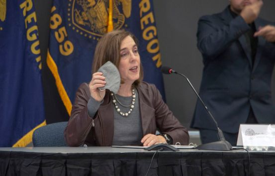 Oregon schools may decide to reopen starting January 1, says Governor Kate Brown