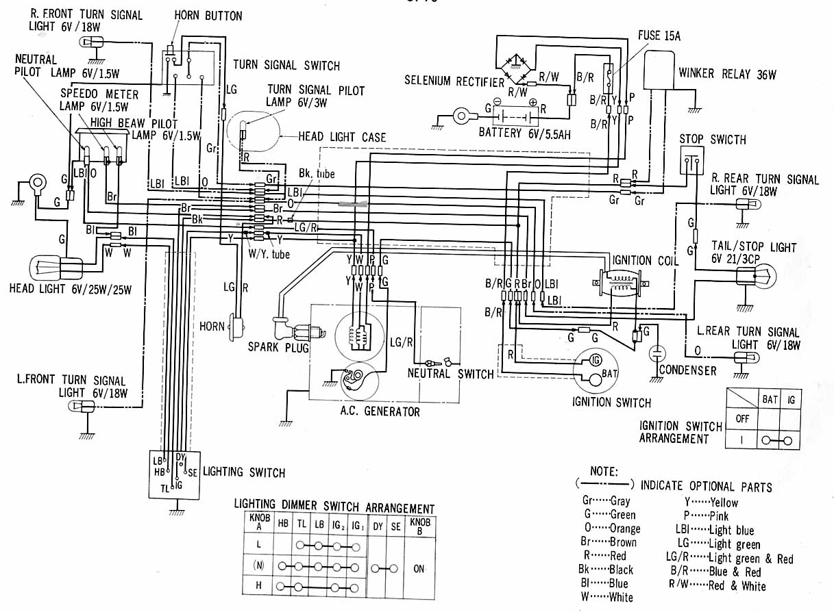 Honda Xl 100 Wiring Diagram Free Printable