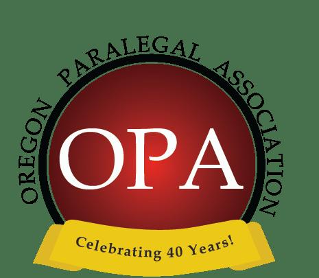 Oregon Paralegal Association Home