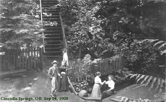cascadia springs in 1908