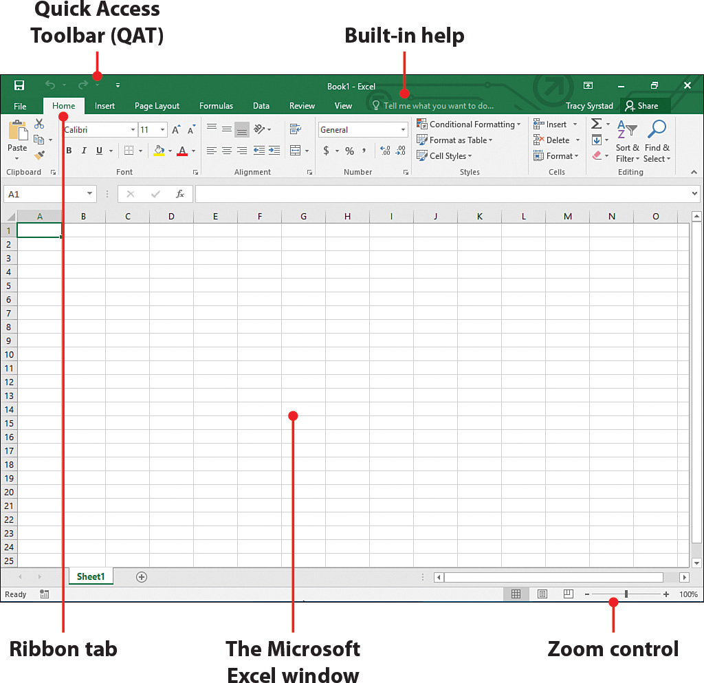 1 Understanding The Microsoft Excel Interface