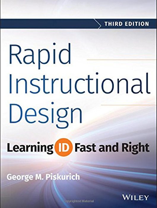 Cover Page - Rapid Instructional Design: Learning ID Fast ...
