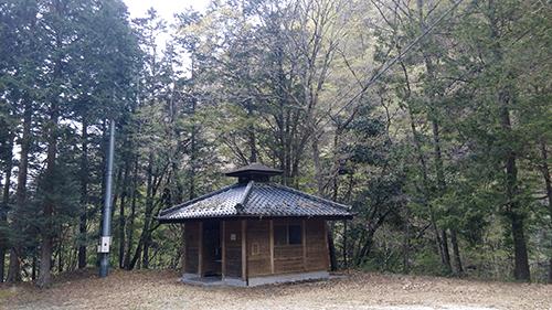 二軒屋キャンプ場トイレ