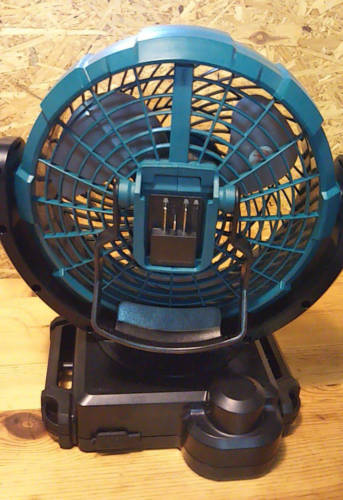 マキタ扇風機背面