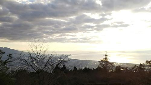 野田山健康緑地キャンプ場景色