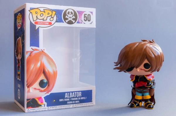 Funko Pop Albator/Captain Harlock